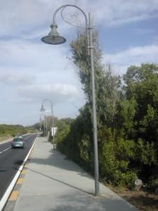Adeguamento impianto illuminazione pubblica.