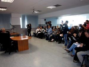 Conferenza stampa presentazione atto aziendale e rendicontazione Tavolo Massicci