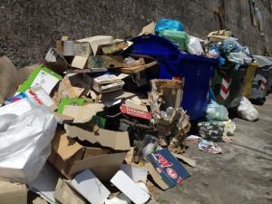 Placanica -rifiuti in via Domenico Romeo