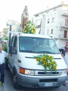 Guardavalle Marina. Festa in onore di S. Maria degli Angeli dal 4 al 6 agosto.