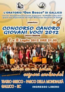 Giovani Voci 2012, cresce l'attesa per le serate finali!