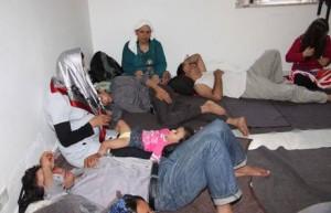 Protestano rifugiati ospitati a Riace.  Bloccata per ore la statale 106, chieste erogazione fondi a enti
