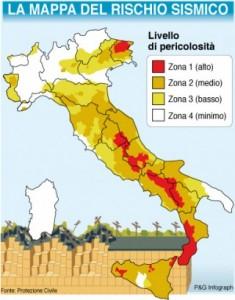 Terremoti: Calabria, Sicilia e Abruzzo le regioni con più scosse nell'anno.