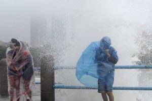Video. Ingoiato dalla terra in Taiwan.