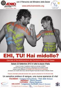 Domani conferenza stampa Admo Giornata nazionale donazione midollo