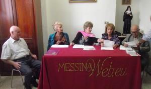 """Arteincentro 2012. Al lavoro la giuria per la valutazione delle poesie """"In lingua"""" e """"In Vernacolo""""."""