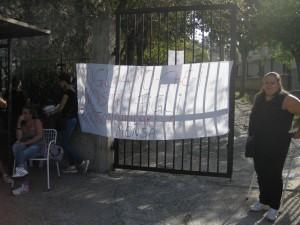 Protesta dei genitori degli studenti delle scuole di Guardavalle.