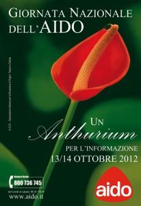 Giornata Nazionale AIDO: Sabato 13 e Domenica 14 ottobre 2012.