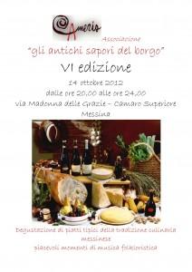 """Associazione Cameris. VI edizione """"Gli Antichi Sapori del Borgo"""""""