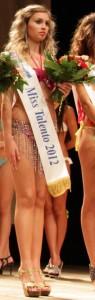 "Stefania Parisi, ""Miss Talento"" a ""La più bella delle Miss""."