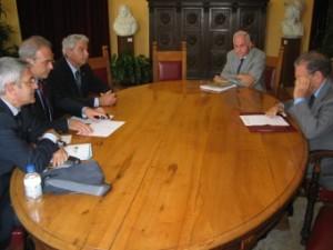 Nuovo incontro stamani del Commissario Croce con i Segretari Generali di CGIL, CISL, UIL.