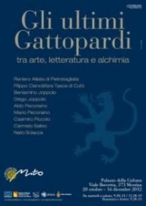 """Il 16 dicembre conclusione al Palacultura della mostra """"Gli ultimi Gattopardi tra arte, letteratura e alchimia""""."""