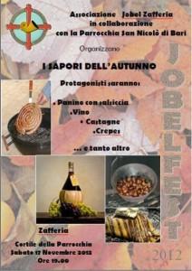 Zafferia. JobelFest: tutto pronto per la sesta edizione. Tradizioni culinarie e prodotti tipici.