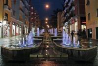 Cosenza. Una nuova suggestiva prospettiva nel centro urbano: inaugurate le fontane artistiche di via Arabia
