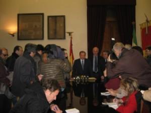 Incontro di fine anno del Commissario Straordinario Croce con la stampa.