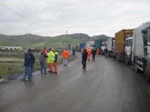 Catanzaro provincia. Raccolta rifiuti rallentata anche dai tempi di attesa dei camion alla discarica di Alli.