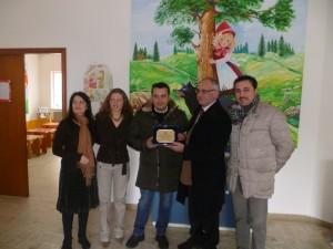 Messina. Donazione del Cesv a Saponara in seguito all'alluvione.