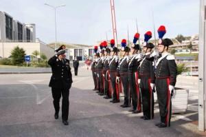 Cerimonia di consegna riconpense a Carabinieri della Legione Calabria