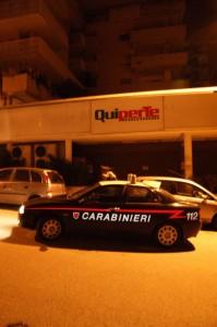 Tentano un furto all'interno del Quiper di Piazza Sant'Antonio, scoperti e arrestati dai Carabinieri del Nucleo Operativo e Radiomobile 2 reggini.