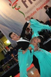 Sabato 2 e domenica 3 marzo le Danze di coppia al Palasport di Acireale. Campionato Regionale della Danza Sportiva siciliana