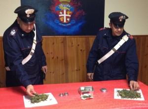 Patti (Me): 24enne arrestato dai Carabinieri per detenzione a fini di spaccio di marijuana.