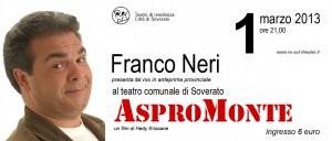 """Soverato (Cz). Week-end di grande impegno per Re-Act con Franco Neri e una nuova replica de """"Il Silenzio dei vivi."""""""