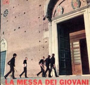 la messa dei giovani 1966 copertina LP