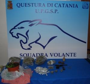 polizia Catania droga