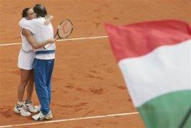 La semifinale della la semifinale della Feder Cup a Palermo.