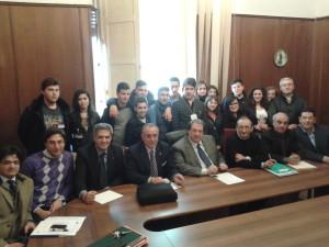 Vibo Valentia. D'Agostino unitamente alla Giunta hanno incontrato studenti dell'I.P.S.S.A.R.A