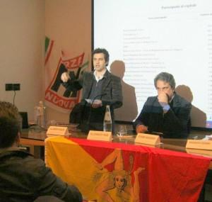 Progetto Sicilia a Messina: Forza Nuova appoggia il progetto di una moneta di popolo siciliana.