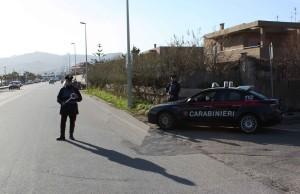 Carabinieri posto blocco me
