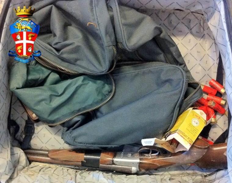 Foto fucile recuperato dai Carabinieri
