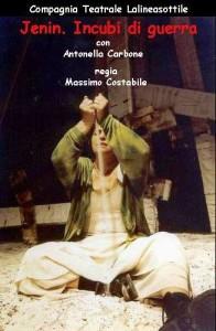 Piccolo Teatro Unical: Jenin. Incubi di guerra. Giovedì 18 aprile ore 21.00.