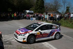 Vittoria di Beltrami-Sala su Citroen C4 WRC alla 3a Ronde di Gioiosa Marea.