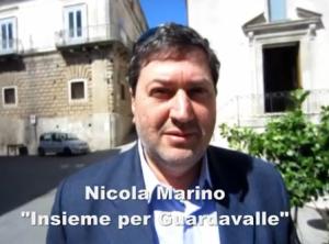 """Intervista a Nicola Marino, rappresentante della lista """"Insieme per Guardavalle""""."""
