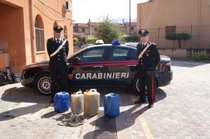 Partinico (Pa): Arrestato dai Carabinieri perchè sorpreso a rubare carburante