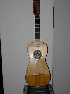 chitarra battente calabrese