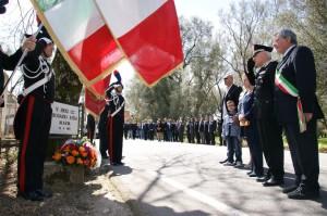 Cittanova (Rc): commemorazione dell'uccisione del Brigadiere dei Carabinieri Iozia Rosario.