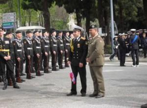 Messina. Scopertura della targa toponomastica del Largo dei Marinai Russi