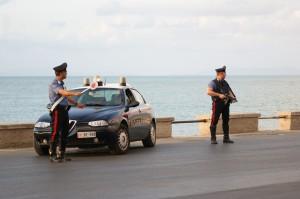 carabinieri posto blocco militello
