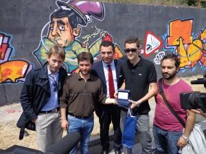 Catania. Nuovi murales per la sicurezza stradale