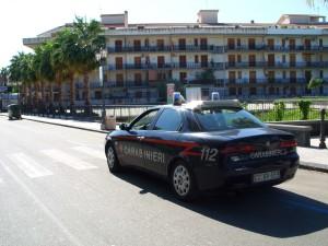Giardini Naxos (Me): 40enne catanese arrestato dai Carabinieri dopo furto ad un distributore di carburante.