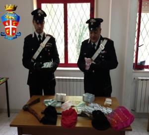 Tortorici (ME): tre pregiudicati della provincia di Catania arrestati dai Carabinieri subito dopo una rapina all'Ufficio Postale.