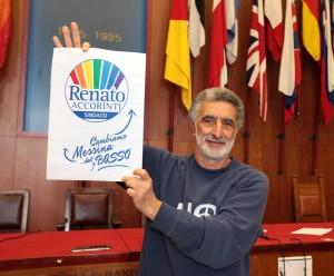 Renato Accorinti chiude la campagna elettorale e commenta la decisione relativa al rinnovo della concessione per la Rada S. Francesco.