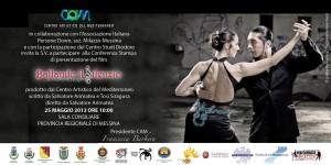 """Conferenza stampa di presentazione di """"Ballando il silenzio… un tuffo nel sogno"""" il nuovo film diretto da Salvatore Arimatea."""