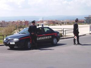 carabinieri posto di blocco s. agata