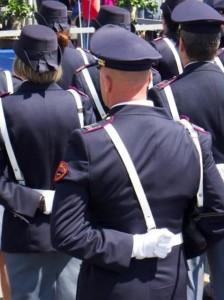 Taormina (Me).  San Michele Arcangelo, Patrono della Polizia di Stato