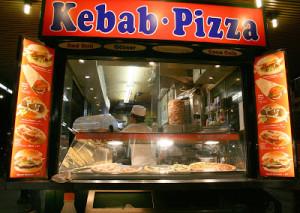 kebab - PIZZA