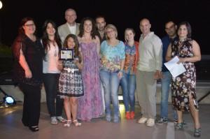 11 The Simple Vincitori di Tappa con giuria,organizzatori e presentatrice
